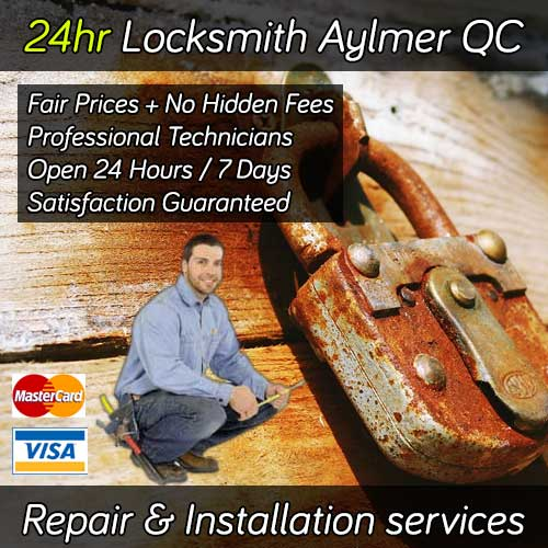 24hr Locksmith Aylmer Quebec