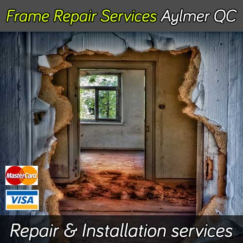 Door frame repair service in Aylmer Quebec