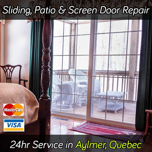 Sliding Patio Door Repair Aylmer QC